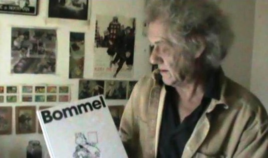 Dick Matena maakt winnaar Bommelglossy bekend