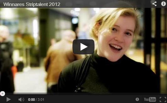 Jasmijn Groot is Striptalent 2012