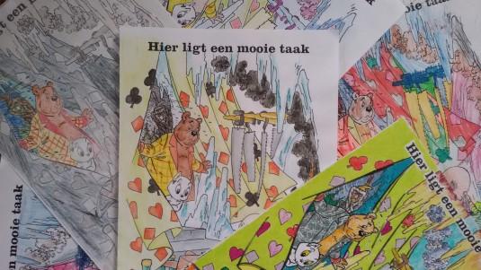 kleurwedstrijd Heer Bommel