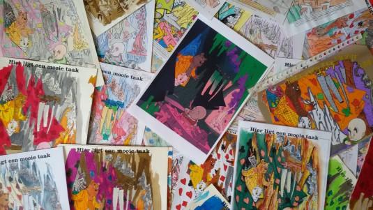 Tom Poes en de Paskaart kleurwedstrijd