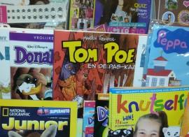 Bommel en de Paskaart in supermarkt
