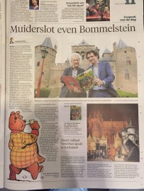Tom Poes en het tijddeurtje Haarlems Dagblad e.a.