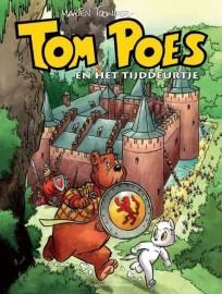 Tom Poes en het tijddeurtje cover Muiderslot